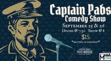 Guest Performer<br>@ Captain Pabst Pilot House<br>1037 W Juneau Ave, Milwaukee, WI<br>September 26, 2020